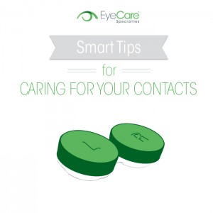 4 Must-Dos for Taking Care of Your Contacts